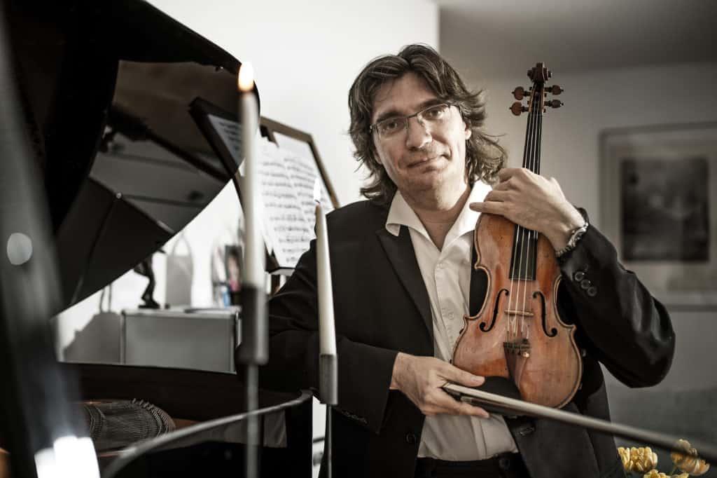 Piotr Plawner, Violinist, Geige, Musiker, Hinterkappelen, Bern, I Salonisti