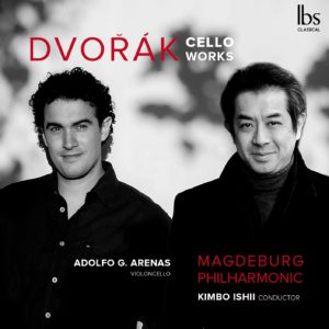 Dvorak Cello Works - CD cover