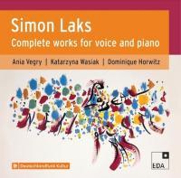 Simon Laks: Sämtliche Werke für Gesang und Klavier - CD-Cover